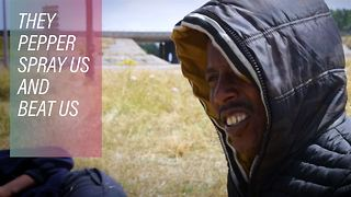 Migrants are back in Calais, talk of torture - Video