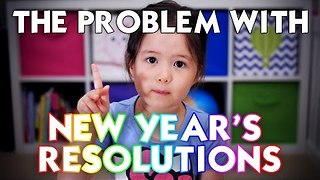 4-Year-Old Shares Brilliant New Year's Resolution Message - Video