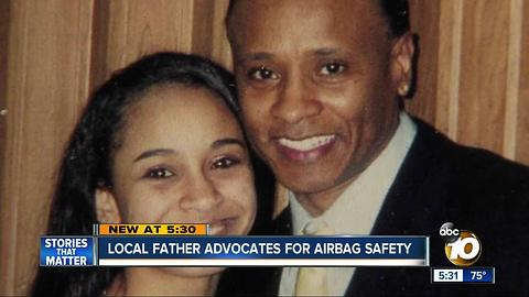 Local father talks about Takata recall