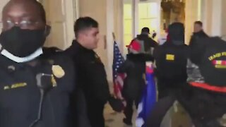 DC Capitol Police Helped Trump Supporters Enter Inside US Capitol Building and Senate Floor