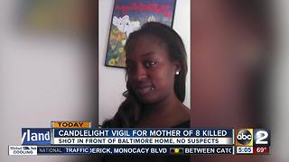 Candlelight for Charmaine Wilson Friday night - Video