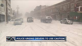 Low temperatures impact Milwaukee driving conditions - Video