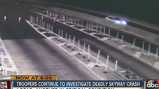 Deadly skyway crash - Video