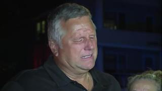 Bob Meeker, brother of Cathy Miller, reacts to the news of his sister and her great granddaughter dying in the house fire - Video