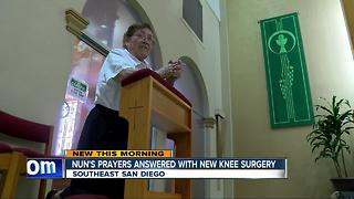 Robotic technology helps 78-year-old nun get back on her feet - Video