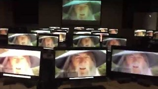Gandalf Nods to Jazz Music Through Clever Student Editing Trick - Video