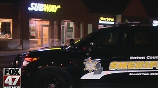 Masked men robbed Delta Township Subway at gunpoint - Video