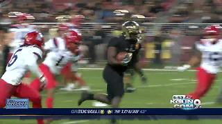 Foster Farms Bowl post-game - Video