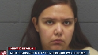 Darlington mom pleads not guilty to murdering two  young children - Video