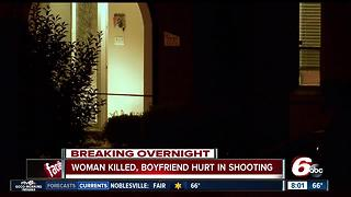 Woman is shot and killed, boyfriend wounded - Video