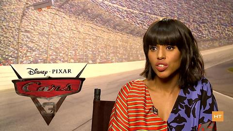Kerry Washington reflects on her years playing Olivia Pope during 'Cars 3' interview | Hot Topics