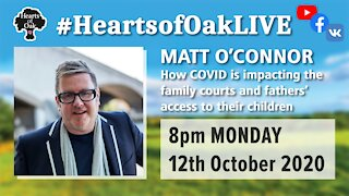 Livestream with Matt O'Connor from Fathers4Justice 12.10.20
