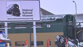 One dead in crash near National Railroad Museum - Video