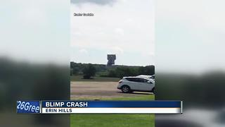 Blimp Crash Reaction - Video