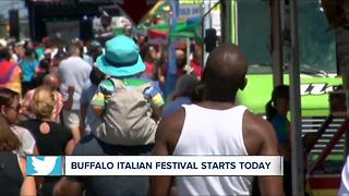 Buffalo Italian Heritage Festival moves to Outer Harbor for 30th year - Video