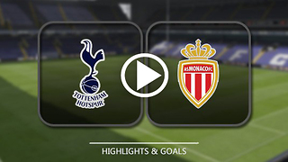 Tottenham Hotspur 1 : 2 Monaco 14/09/2016 - UEFA champions league - Video