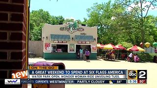 Events at Six Flags America - Video