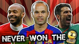 Greatest Player To Never Win A Ballon d'Or Was… - Video