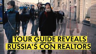 The real 'rough guide' to St. Petersburg: Homeless tour - Video