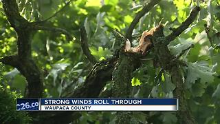 Waupaca County storm leaves a wake of damage - Video