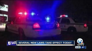 New laws taking effect on July 1, 2017 - Video