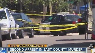 Second arrest in East County murder - Video