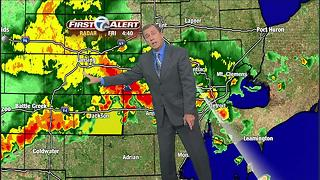 Forecast: Storms roll through metro Detroit - Video