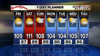 13 First Alert Weather for July 14 2017 - Video