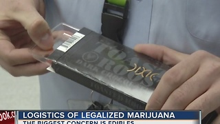 Questions about legal marijuana industry in Nevada include children accessing edibles - Video