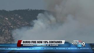 Burro fire burns 26,166 acres, 19 percent contained