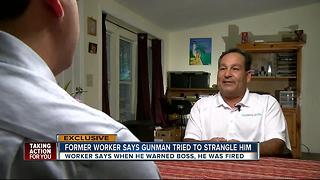Exclusive: Former employee at Fiamma Inc. warned bosses that John Neumann wanted to kill him - Video