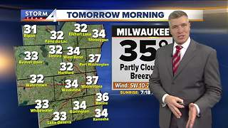 Warm night ahead, sunny day tomorrow - Video
