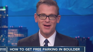 How to get free parking in Boulder - Video