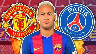 Neymar Rejects PSG & Manchester United For Huge New Barcelona Contract! | Transfer Talk - Video