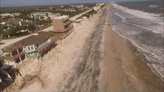 South Ponte Verda Beachfront Devastated by Hurricane Matthew - Video