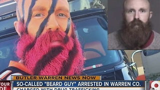 Bengals/Reds 'beard guy' arrested on drug trafficking charges in Warren County - Video