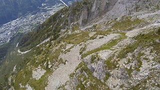 Insane Wingsuit Flight Leaves You At The Edge Of Your Seat  - Video
