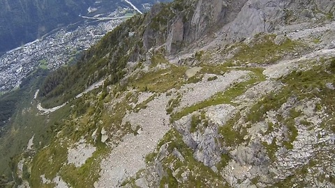 Insane Wingsuit Flight Leaves You At The Edge Of Your Seat