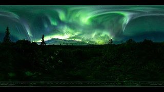 360 Video Shows Spectacular Northern Lights in Alaska - Video