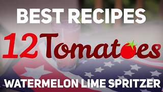 Watermelon lime spritzer recipe - Video