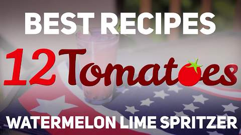 Watermelon lime spritzer recipe