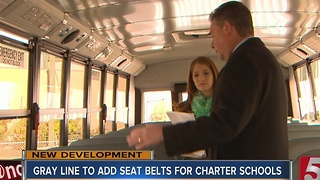 Gray Line To Add Seat Belts To School Buses - Video