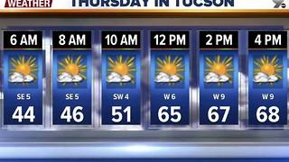 Chief Meteorologist Erin Christiansen's KGUN 9 Forecast Wednesday, January 4, 2017