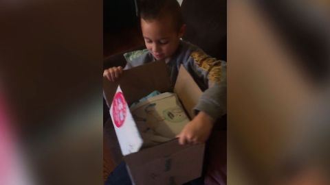 Boy Sees His Drawing Come To life
