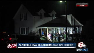 Teen driving car that crashed into Clinton Co. home killing two kids arrested for OWI - Video