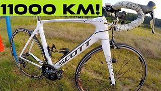 Shimano Tiagra 4700 Road Bike Groupset. 11000 km TEST - Video