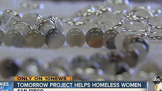 Tomorrow Project helping homeless women in San Diego - Video