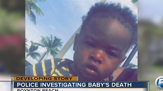 Police investigating baby's death - Video