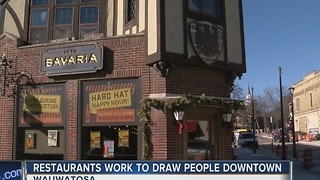 Wauwatosa restaurants team up to celebrate construction's end - Video