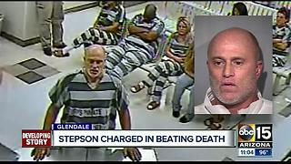 Stepson charged in Glendale beating death - Video